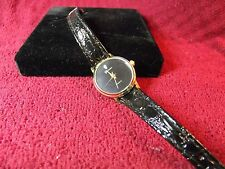 Woman's Geneva Watch with Leather Band Lot K 263