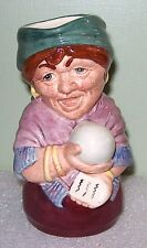 @ Royal Doulton Doultonville MADAME CRYSTAL the CLAIRVOYANT fortune teller toby
