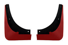 C6 Corvette 2pc Painted Rear Mud Flap Splash Guards - Victory Red 74 GCN WA9260