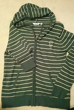 Celtic  cardigan with hood  size small