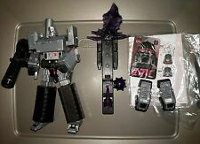 2012 Toyworld Transformers Hegemon Megatron and FF-02 King of Evil Upgrade Parts