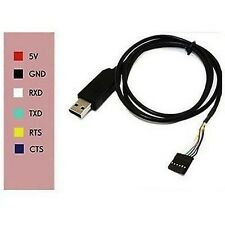 6pin FTDI FT232RL USB TO TTL RS232 Cable USB to Serial Adapter f Arduino UNO R3
