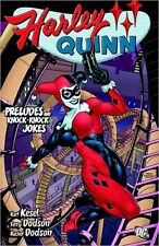 DC COMICS HARLEY QUINN PRELUDES AND KNOCK-KNOCK JOKES TPB TRADE PAPERBACK