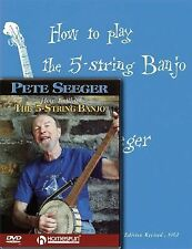 Pete Seeger Banjo Pack: Includes How to Play the 5-String Banjo book and How to