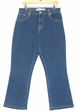 "LEVI STRAUSS & CO LADIES RELAXED BOOT CUT DENIM JEANS TROUSERS W 32"" L 29"" BLUE"