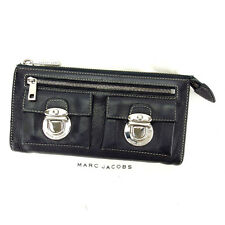Auth Marc Jacobs zipper Bill Compartment unisexused S292