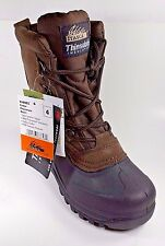 Boys SZ 4 Itasca Cedar Snow Winter Boots Brown Leather Warm Rugged Soles