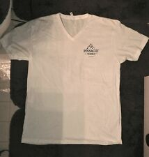 BRAND NEW Pinnacle Vodka White T Shirt Mens XL Tee Mountain Logo