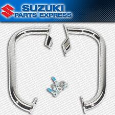 NEW GENUINE SUZUKI BOULEVARD C90 C90T CHROME ENGINE CRASH GUARD SET