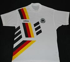1992-1994 GERMANY ADIDAS FOOTBALL TRAINING T-SHIRT (SIZE M)
