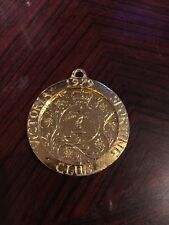 Interesting Gold Plated 1977 Crown - Mounted Victoria Sporting Club
