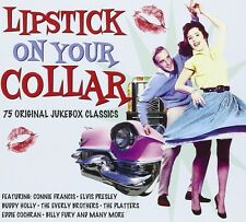 Lipstick on your Collar (paul anka, elvis presley, Cliff richard, etc.) 3 CD NEUF