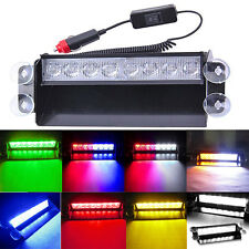 New LED Colorful Auto Car Dash Strobe Lights Flash Emergency Warning Lamp Police