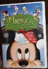 WALT DISNEY dvd MICKEY'S TWICE upon A CHRISTMAS 2004
