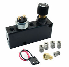 Adjustable Proportioning Valve & Builtin Distribution Block With Brake Fittings