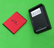 2 Accessory Ace 2060mAh Battery+Dock Charger F Samsung Galaxy S Blaze 4G T769 US