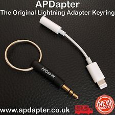Lightning to 3.5mm Headphone Jack Adapter Keyring APDapter