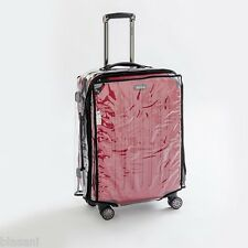 "Blasani™ ""M"" Luggage Cover Protector Suitcase Clear PVC Cover Fits 24""~25"" Bags"