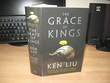 Ken Liu The Grace Of Kings Signed Dated Numbered x/200 debut Hugo Nebula Award