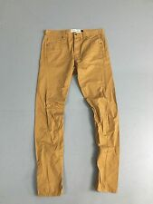 Men's TOPMAN 'Skinny' Chinos - W32 L34 - Khaki Wash - Great Condition