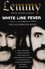 LIKE NEW White Line Fever: The Autobiography By Lemmy Kilmister FREE SHIPPING!
