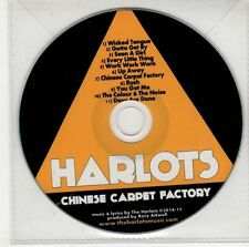 (GS147) Harlots, Chinese Carpet Factory - 2015 DJ CD