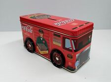 Coca-Cola Delivery Truck Tin Bank - BRAND NEW