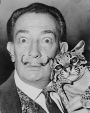 Salvador Dali UNSIGNED photo - F856 - Spanish surrealist painter