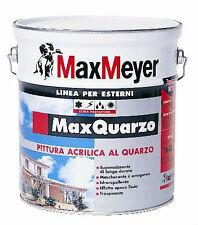MAX MEYER MAX QUARZO Pittura murale farina quarzo acrilica bianco 0,75 lt
