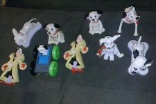 Disney 101 dalmations toy lot of 9 cruella deville pongo and others vintage wow