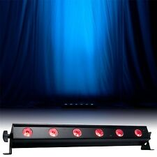 American DJ ADJ Ultra Bar 6 Uplighter Wall Washer 3W TRI LED x 6