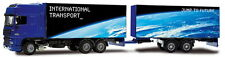 JOAL 369 DAF XF Rigid & Trailer Box Van Blue 1/50th Scale New Tracked 48 UK Post