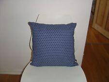 African Shwe Shwe Indigo/Denim fabric cushion