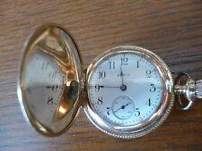 Fantastic Elgin Full Hunting Case Pocket Watch c1915, Grade 320, 7j