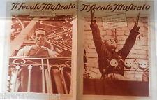 Mussolini e rivoluzione fascista a Torino Radio Milano Riedel De Sica Negrini di