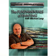 DVD Art Instruction Painting ''The Fundamentals of Painting'' Mix Lang How To
