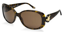 RARE NEW Genuine VERSACE Gold 3D Medusa Tortoise Brown Sunglasses VE 4221 108/73
