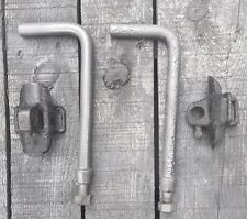 Original Model T Ford Top Bow Saddle Rests and L Irons 1913-1922