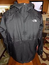 NWT Men's The North Face Boreal Rain Jacket Dryvent Lined Size XL TNF BLACK $99