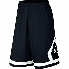 Nike Jordan Flight Diamond Men's Basketball Shorts Black White SMALL SM NEW  $45
