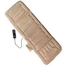 Back Massager Mat Full Body Massage With Heat Cushion Vibration Warming Pad Bed