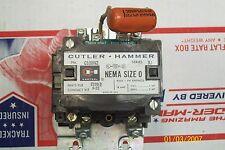 CUTLER HAMMER CONTACTOR STARTER  C10BN2 SIZE 0