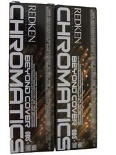 Redken Beyond Cover Chromatics 5NW  2 tubes Age Defying Permanent Color