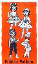 "VINTAGE MARIAN MARTIN MAIL ORDER 16"" TODDLER DOLL CLOTHES PATTERN 9063"