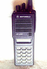 Motorola MT2000 UHF 450-520Mhz 160 Channel 4 Watt Portable Radio H01SDH9AA7AN #1