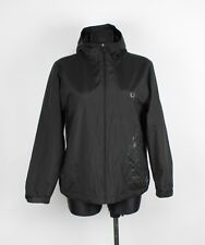 Fred Perry Hooded Women Jacket Coat Size L, Genuine