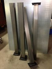 "28""  2"" X 2"" Square Tube Steel furniture legs, stronger than hairpin, table legs"
