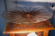 ART DECO - MULLER FRERES Grande coupé en verre moulé vers 1930