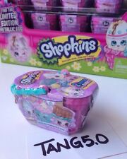 1 New Shopkins 2 In A Basket Mystery Blind Pack Spring Easter Limited Edition