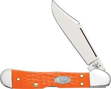 Case Cutlery 10476 Sparxx Mini Copperlock Folding Knife w/Orange Handles